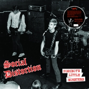 SOCIAL DISTORTION - (RED) POSHBOY'S LITTLE MONSTERS