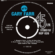FARR, GARY -& THE T-BONES WITH KEITH EMERSON- - LIVE ON TV EP