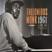 MONK, THELONIOUS - LIVE IN PARIS 1961