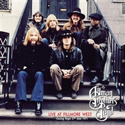 ALLMAN BROTHERS BAND - FILLMORE CLOSING NIGHT, 27.6.1971-WNEW (2LP)