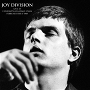 JOY DIVISION - LIVE AT UNIVERSITY OF LONDON UNION, FEB. 8TH 1980