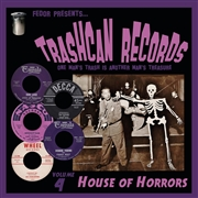 "VARIOUS - TRASHCAN RECORDS 4: HOUSE OF HORRORS (10"")"