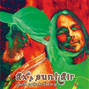 AX & SUNHAIR - (RED) SPIRAL SPACEKRAUT TRIP