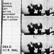 DEAD NORMAL - THERE IS NOTHING LEFT BUT THE ENJOYMENT OF...