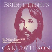 WILSON, CARL - LIVE BROADCASTS 1981 (2CD)