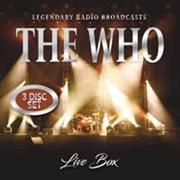 WHO - LIVE BOX (3CD)