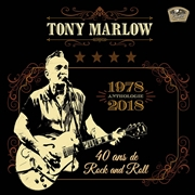 MARLOW, TONY - ANTHOLOGIE - 40 ANS DE ROCK AND ROLL (2CD)