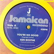 BOOTHE, KEN - YOU'RE NO GOOD/OUT OF ORDER DUB