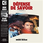 NICOLAI, BRUNO - DEFENSE DE SAVOIR