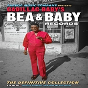 VARIOUS - CADILLAC BABY'S BEA AND BABY RECORDS (4CD+BK)