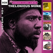 MONK, THELONIOUS - TIMELESS CLASSIC ALBUMS: THE GENIUS (5CD)