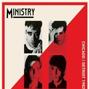 MINISTRY - CHICAGO/DETROIT 1982