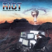 RIOT - (RED) ARCHIVES, VOL. 4: 1988-89 (2LP+DVD)