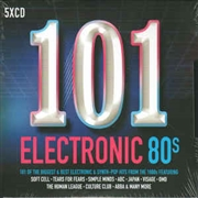 VARIOUS - 101 ELECTRONIC 80S (5CD)