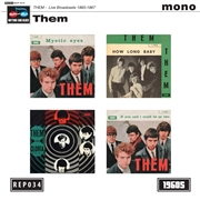 THEM - LIVE BROADCASTS 1965-1967