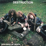 DESTRUCTION - (BLACK) SENTENCE OF DEATH