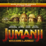 JACKMAN, HENRY - JUMANJI: WELCOME TO THE JUNGLE O.S.T. (2LP)