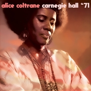 "COLTRANE, ALICE - CARNEGIE HALL '71 (10"")"