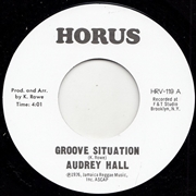 HALL, AUDREY/J.R.M. ORCHESTRA - GROOVE SITUATION/SITUATION