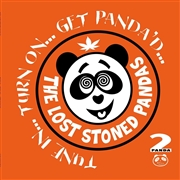 LOST STONED PANDAS - (GREEN) TUNE IN... TURN ON... GET PANDA'D (2LP)