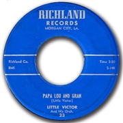 LITTLE VICTOR - PAPA LOU AND GRAN/WHAT IS LOVE
