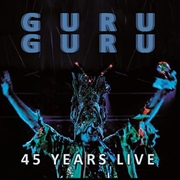 GURU GURU - 45 YEARS LIVE (2LP/2ND REPRESS)