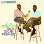 ARMSTRONG, LOUIS -& OSCAR PETERSON- - LOUIS ARMSTRONG MEETS OSCAR PETERSON