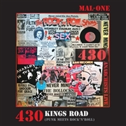MAL-ONE - 430 KINDS ROAD (PUNK MEETS ROCK'N'ROLL)