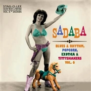 "VARIOUS - SADABA (EXOTIC BLUES & RHYTHM, VOL. 6) (10"")"