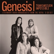 GENESIS - TRANSMISSION IMPOSSIBLE (3CD)