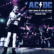 AC/DC - (CLEAR/2) SHOT DOWN IN THE BIG EASY, VOL. 2 (2LP)