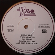 PARAGONS/JAH STONE/TOMMY MCCOOK & THE SUPERSONICS - RIDING HIGH/MERCY, MERCY, MERCY